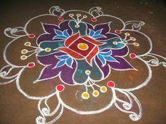 Happy Pongal Rangoli Kolam Designs