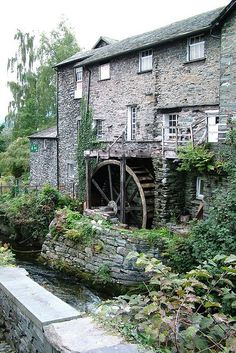 Old Bark Mill, Ambleside, the Lake District, UK