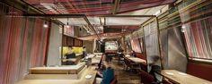 El Equipo Creativo fusiona la estética japonesa y peruana en Pakta, la nueva aventura de los hermanos Adrià.   diariodesign.com #FerranAdria #Restaurants #Barcelona