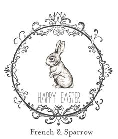 Bunny Tag (http://www.frenchandsparrow.com/2013/03/easter-orders.html)