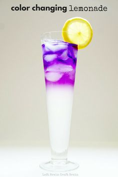 Make some color changing lemonade for a delicious and exciting edible science experiment. Perfect for STEM education at school and home.