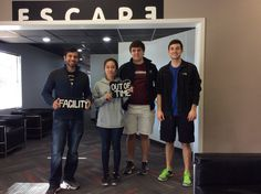 This group from Mays Business School was caught by the evil Dr. Andrews in The Facility!