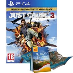 Just Cause 3 Day One Edition With Guide To Medici PS4 Game | http://gamesactions.com shares #new #latest #videogames #games for #pc #psp #ps3 #wii #xbox #nintendo #3ds