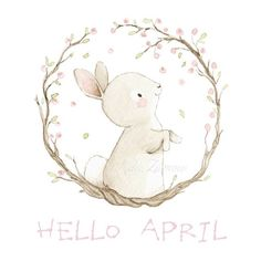 Portfolio - Aida Zamora day illustration I Easter Illustration, Book Illustration, Illustrations, Watercolor Animals, Watercolor Paintings, Lapin Art, Happy Easter, April Easter, Bunny Painting