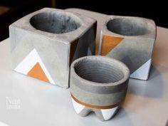 - DIY – Pots (pas si) pourris en ciment • Hellocoton.fr