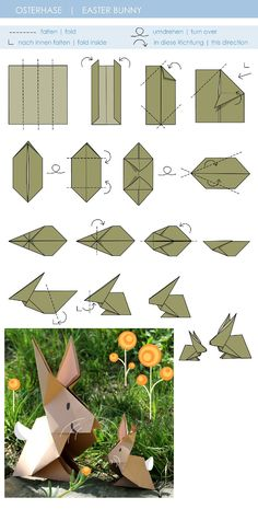 Learn about Step by Step Origami Bunny Origami, Instruções Origami, Origami Star Box, Origami Ball, Origami Dragon, Origami Paper Art, Origami Fish, Origami Butterfly, Origami Folding