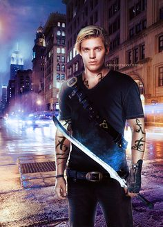 Dominic Sherwood as Jace (Shadowhunters tv series) - fan art annlightwood