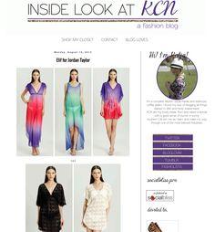 Katja of Inside Look at KCN blogged about her adoration for our Elif for Jordon Taylor line! http://insidelookatkcn.blogspot.com/2013/08/elif-for-jordan-taylor.html
