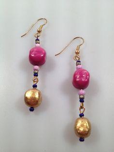 IBA Beaded Dangle Earrings INSPIRED by AMBER by InspiredByAmber, $12.00