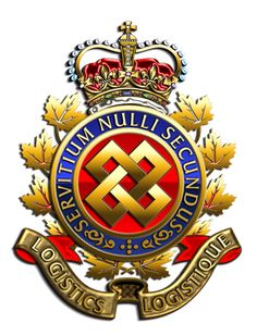 Canadian Forces Logistics Branch Go Clerks :) Royal Canadian Navy, Canadian Army, Canadian History, Logistics Logo, Military Units, Afghanistan War, Military Insignia, Badge Design, Badges