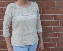 Ravelry: Sea Salt pattern by Laura Aylor. Yarn: MadelineTosh 'Sea Salt'