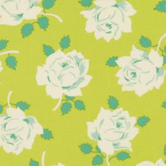 Heather Bailey - Lottie Da - Vintage Rose in Lime