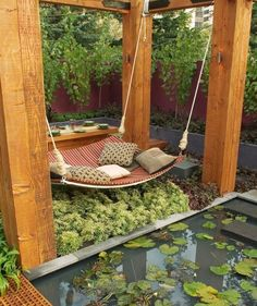Outdoor Inspiration :: A Place to Lounge