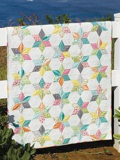 Pieced Baby Kids Quilt Patterns - Sprinkles Quilt Pattern
