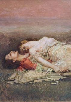 Rogelio de Egusquiza (Spanish, 1845-1915)Tristan and Isolde, detail1910Museo de Bellas Artes de Bilbao (Bilbao Fine Arts Museum)The legend of Tristan and Isolde is the tragic tale of two lovers fated to share a forbidden but undying love. Scholars of mythology believe that the legend originated in Brittany, in western France. In time it was associated with the Arthurian legends and became part of the mythology of medieval Europe, told and retold in various versions and in many languages.