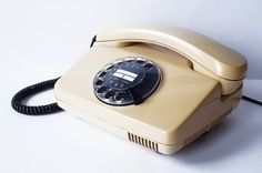 Retro German Rotary Telephone 1988 Vintage 1980s Cream Nude Beige Tan Sand Color Deutsche Post FeTAp 791-1 Phone early 1990s – ETSY RetroSparkShop