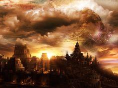 Pyramids of Meereen.  ~ fantasy city by Desigz (Joel Thanos). #GoT #ASOIAF