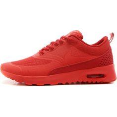 28652095a20b Nike Air Max Thea Sneakers in Gym Red as seen on Hailey Baldwin Air Jordan