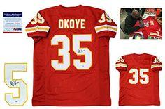 Christian Okoye Kansas City Chiefs Autographs