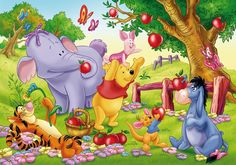 Winnie The Pooh English Episodes: Rabbit Marks the Spot Winnie The Pooh Cartoon, Winnie The Pooh Pictures, Winnie The Pooh Quotes, Winnie The Pooh Friends, Bear Cartoon, Cartoon Pics, Disney And More, Disney Fun, Baby Disney