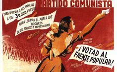 Esta imagen muestra la propaganda política del Frente Popular en 1936.Va dirigido a todos los españoles y es una fuente primaria. Enseña perfectamente los cambios que quisieron hacer.El Frente Popular  fue creado, después de producirse la revolución de octubre de 1934, por los principales partidos de izquierdas.El 16 de febrero, consiguió ganar las últimas elecciones durante la Segunda República antes del golpe de Estado que produciría la Guerra Civil.Lorena