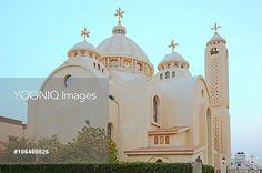Coptic Orthodox Church All Saints Who Live In Heavens Iglesias, All Saints, Heavens, Cairo, Christianity, Egypt, Taj Mahal, Greek, Live