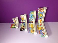 "My version of the ""Guttering Bookshelf""."