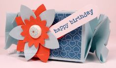 Candy Wrapper Die - Happy Birthday