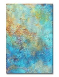 'Romantic Modern Expressionism 3.3' by Michele Morata Painting Print Plaque