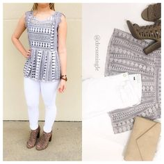 SEE IT ON | Valentine's was fun but this top is EVERYTHING! $48. Small and large left. Comment for PayPal or text 225.385.6004 to purchase. #dressmingle #ootd #springfever #crazyweather #225style
