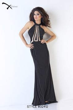 Xtreme Prom 2014 Collection style #32412 #prom #dress #black