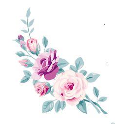 Cute Wallpaper Backgrounds, Flower Wallpaper, Flower Backgrounds, Floral Illustrations, Botanical Illustration, Watercolor Illustration, Watercolor Cards, Watercolor Flowers, Flower Frame