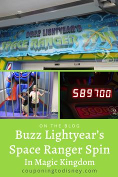 Buzz Lightyear's Space Ranger Spin in Magic Kingdom Disney World Rides, Disney World Parks, Disney World Planning, Walt Disney World Vacations, Cruise Vacation, Disney Cruise, Big Robots, Disney Tickets, Disney World Magic Kingdom