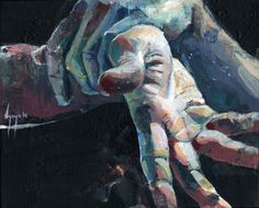 David Agenjo | Study of Hands