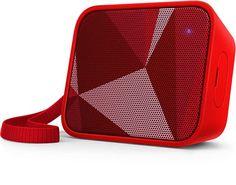Philips BT110R Kırmızı Bluetooth Taşınabilir Hoparlör(H12.BT110R)