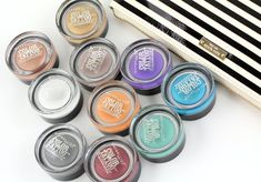 Maybelline Color Tattoo 24HR Eyeshadow.  This is great make up product. Regular eyeshadow will be sure to crease/melt off every single day. This does not budge. It blends beautifully, goes on smoothly does not come off.