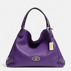 Coach :: EDIE SHOULDER BAG IN LEATHER