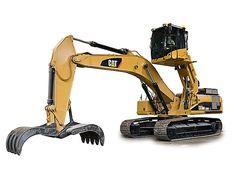 Cat   330D MH Waste Handler   Caterpillar