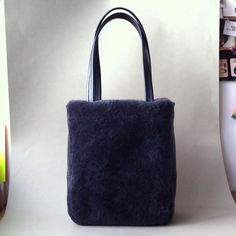 Custom shopper  Sweet sheep & grey calf #atelierstloup #madeinfrance