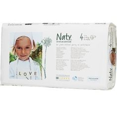NATY eko jednorazówki NO.4 (7-18kg) 46szt Love, T 4, Baby Care, Frame, Products, Human Height, Amor, Frames