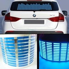 I found '700mm*160mm Blue Sound Music Activated Sensor Car Sticker Light Lamp Equalizer' on Wish, check it out!