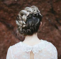 Braided wedding updo by Heather Chapman Hair