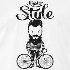 RAD, HIPSTER, T-SHIRT, MOUNTAINBIKE, GESCHENKIDEE - Männer Premium T-Shirt