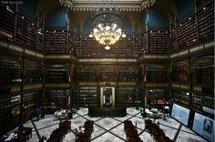 Real Gabinete Português de Leitura – Rio de Janeiro, Brazil