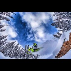 """Great snowmobiling shot from @novaguides  www.ColoradoMountainActivities.com #visitcolorado #Colorado #Igerscolorado #Coloradoactivities…"""