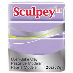 Pearl Polyform S302-1101 Sculpey-3 Polymer Clay 2-Ounce