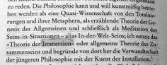 """Was lässt sich heutzutage noch unter Philosophie verstehen? Zitat: Peter Sloterdijk """"Im Weltinnenraum des Kapitals"""" (16)"""
