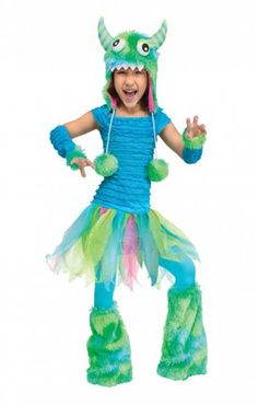 Lass das Blaue Ungeheuer gegen die Monster antreten #kostum #costume
