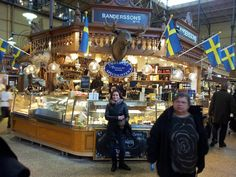 Perfect place to taste real Swedish food: the market! favorite-places-spaces house