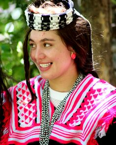 Diana - a Kalasha girl from Bumburet Valley, Pakistan